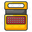 Speak And Spell Voice Typing Handheld Toy Icon