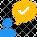 Speak Check Icon