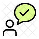 Speak Check Icon