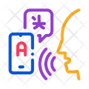 Voice Interpreter Translator Icon