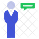 Speak Or Communication Icon