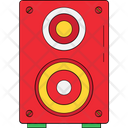 Woofer Subwoofer Music System Icon
