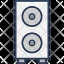 Music System Speaker Speaker Box Icon