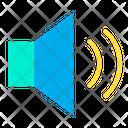 Volumn Loud Speaker Speaker Icon