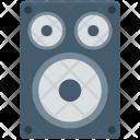 Speaker Woofer Music Icon