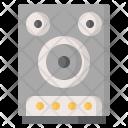 Speaker Instruments Music Icon