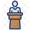 Speech Conference Oral Communication Icon