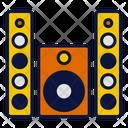 Speaker Kitchen Household Devices Icon