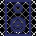 Audio Loudspeakers Speakers Icon