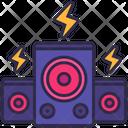 Speaker Sound Party Icon