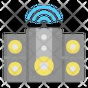 Speaker Wifi Internet Of Things Icon