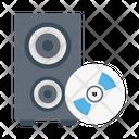 Speaker Cd Disc Icon