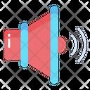 Speaker Volume Sound Icon