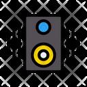 Speaker Music Woofer Icon