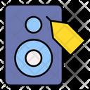 Speaker Loudspeaker Discount Icon
