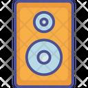Speaker Music Sound Bass Icon