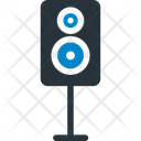 Music Sound Bass Speakers Icon