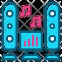 Speaker Party Music Dance Sound Icon
