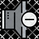 Speaker Remove Music Icon