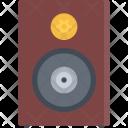 Speaker Appliances Electronics Icon
