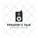 Speaker Logo Icon