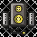 Speakers Loudspeaker Stereo Icon