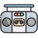 Boombox Music Stereo Icon