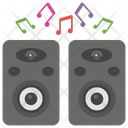 Speakers Output Device Sound System Icon