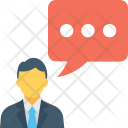 Speaking Talking Speech Icon