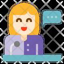 Speaking Talking Communication Icon