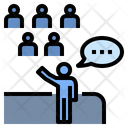 Speaking Skill Entertainment Audience Icon