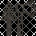 Spear Stone Medieval Icon