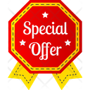 Special Discount Banner Icon