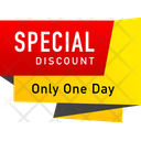 Banner Tag Discount Tag Icon