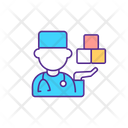 Specialist Autism Doctor Icon