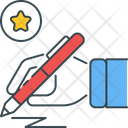 Specialization Pen Sign Icon
