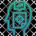 Specific Focus Thinking Icon