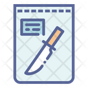 Crime Forensic Evidence Icon