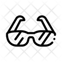 Sport Spectacles Alpinism Icon