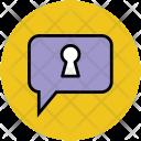 Speech Box Discuss Icon