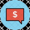 Speech Bubble Business Icon