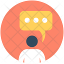 Speech Bubble Box Icon