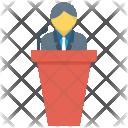 Education Speech Meeting Icon