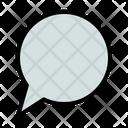 Speech Bubble Dialog Icon