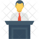 Speech Address Public Icon