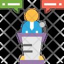 Meetingv Speech Broadcaster Icon