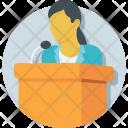 Speech Public Speaker Icon