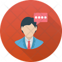 Speech Talk Dialogue Icon