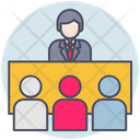 Business Meeting Table Icon