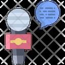 Artboard Speech Speaker Icon